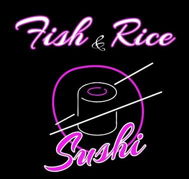 Логотип заведения Fish&Rice (Фиш энд райс)