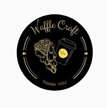 Логотип заведения Waffle Craft (Вафл крафт)