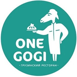 Логотип заведения One Gogi (Ван Гоги)
