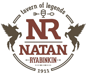 Логотип заведения Натанъ Рябiнкiнъ