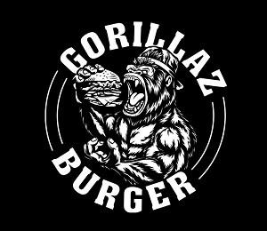 Логотип заведения Gorillaz Burger
