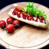Хот-дог со свежими овощами Мангал House