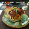 Мороженое в хрустящей корзинке с кунжутом Дача