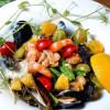 Салат с морепродуктами от Шефа Старый Маяк