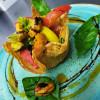 Салат с мидиями и томатами Дача