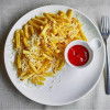 Картофель фри с сыром Пармезан и трюфельным маслом Parmesan (Пармезан)