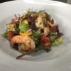 Салат с креветкой и брезаолой Аляска