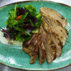 Свиная вырезка с карамелизированными овощами Дача