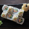 Ролл с запеченным лососем Fish&Rice (Фиш энд райс)