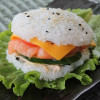 Rice-бургер лосось  Fish&Rice (Фиш энд райс)