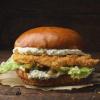 Чикен Бургер (Crispy Chicken Burger) В ребро