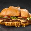 Круассан Дабл Чизбургер Lviv croissants (Львовские круасаны)