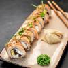 Жареный лосось Я за суши