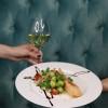 Филе лосося со сливочно-устричным соусом  Чумаков