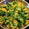 Зеленая брокколи и сладкая кукуруза (Broccoli & Corn) В ребро