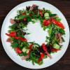 Салат с прошутто и копченным домашним сыром Чумаков