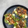 Салат с копченым угрем и авокадо Stone (Стоун)