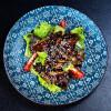 Теплый салат с телятиной Palace