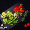Тарелка свежих овощей Мангал House