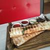 Лаваш с сыром и зеленью Mangal Bar