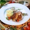 Котлетки из кроля с картофельным пюре и грибным соусом Старый Маяк