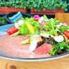 Салат с креветками и сыром филадельфия На зубок
