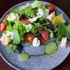 Салат с креветками и сыром филадельфия Okinawa (Окинава)