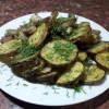 Картофель с салом на мангеле Шашлык Хаус