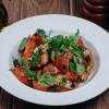 Панцанелла по-тоскански с лососем Гравлакс Parmesan (Пармезан)