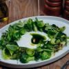 Зеленый салат с йогуртовой заправкой Parmesan (Пармезан)