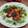 Цыпленок в горчичном карри с соусом Дзадзыки Parmesan (Пармезан)
