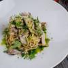 Спагетти с шиитаки и грибным крем-соусом Parmesan (Пармезан)