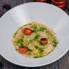 Равиоли с телятиной, томленой в вине, и картофельным кремом Parmesan (Пармезан)