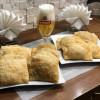 Чебуреки с сыром и креветками Илюс