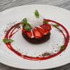 Шоколадный фондан с мороженым Parmesan (Пармезан)