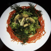 Салат грибной Шашлычный рай