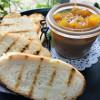 Риет из куриной печени с апельсиновым конфитюром Сад