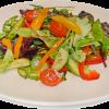 Салат из свежей зеленью Зеркальный