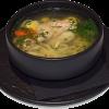 Суп с перепелом Зеркальный