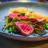 Красный тунец с овощами и лазаньей 7 Goats