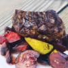 Стейк из телятины с карамелизированными овощами Эллада