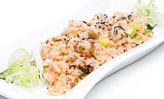 Тайский рис с овощами Сад