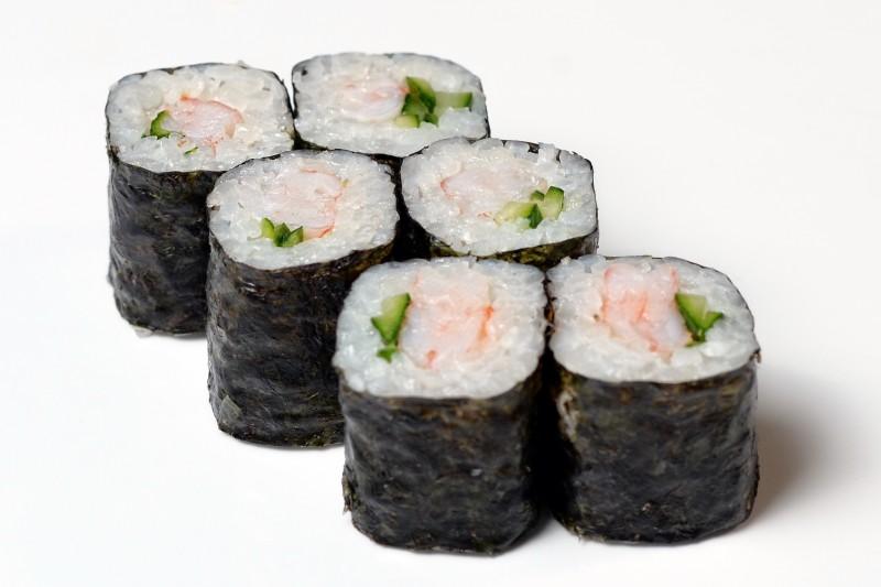 Маки с креветкой Okinawa (Окинава)